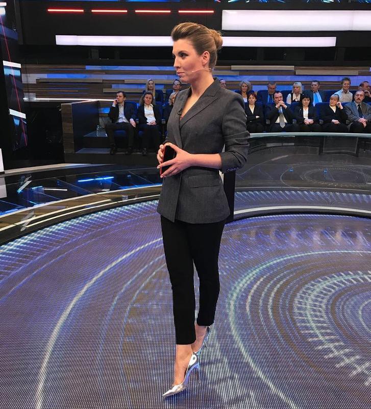 Ольга Скабеева в передаче «60 минут»