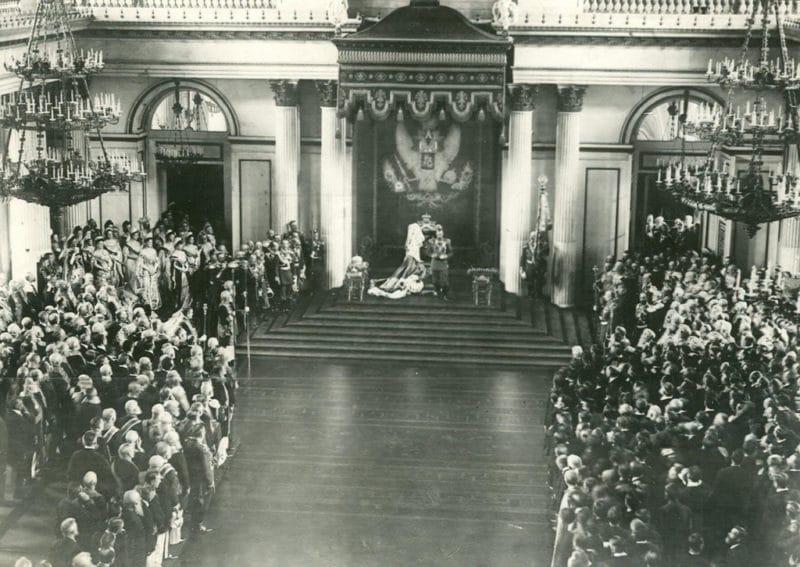 Инаугурация Николая 2