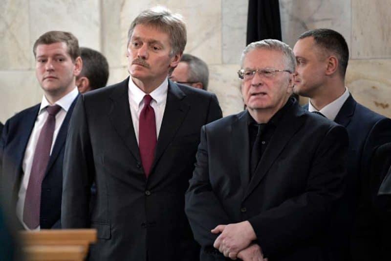 Дмитрий Песков с Жириновским