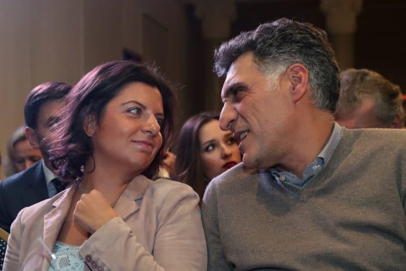 Тигран Кеосаян с Маргаритой Симоньян