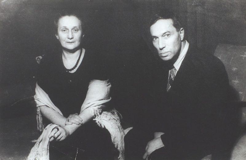 Борис Пастернак с Анной Ахматовой