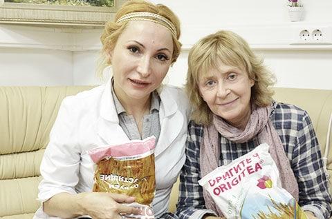 Регина Дубовицкая с дочерьею