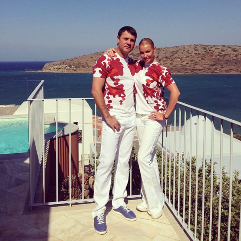 Анастасия Волочкова с Бахиром Салимовым