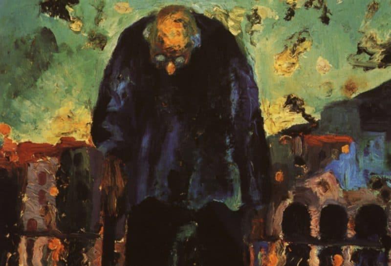 Картина Сальвадора Дали «Сумеречный старик»