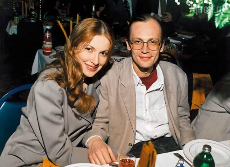 Александр Гордон с Наной Кикнадзе
