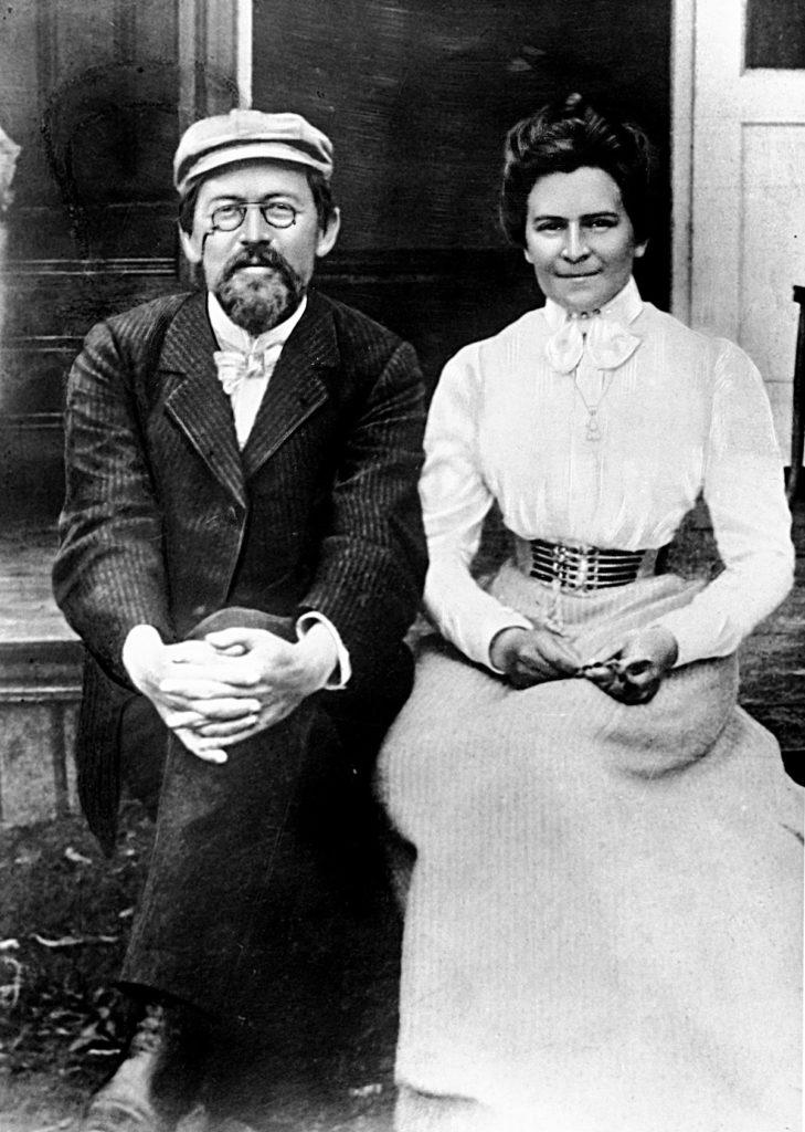Антон Павлович Чехов с Ольгой Книппер