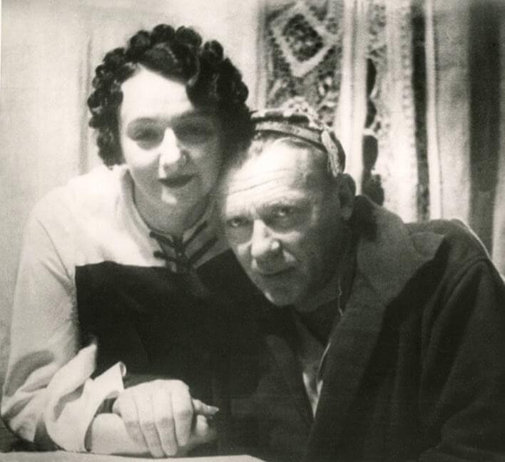 Михаил Булгаков с Еленой Шиловской