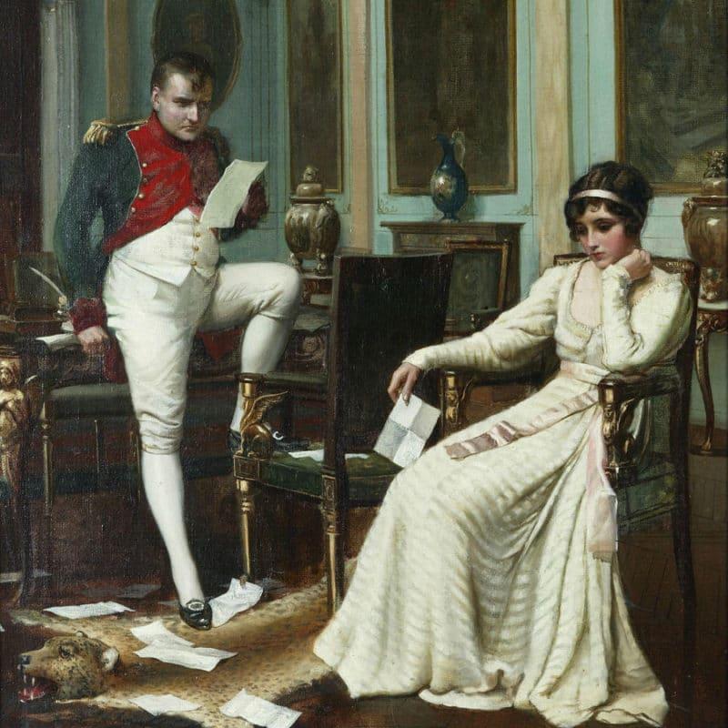 Наполеон Бонапарт с Жозефиной