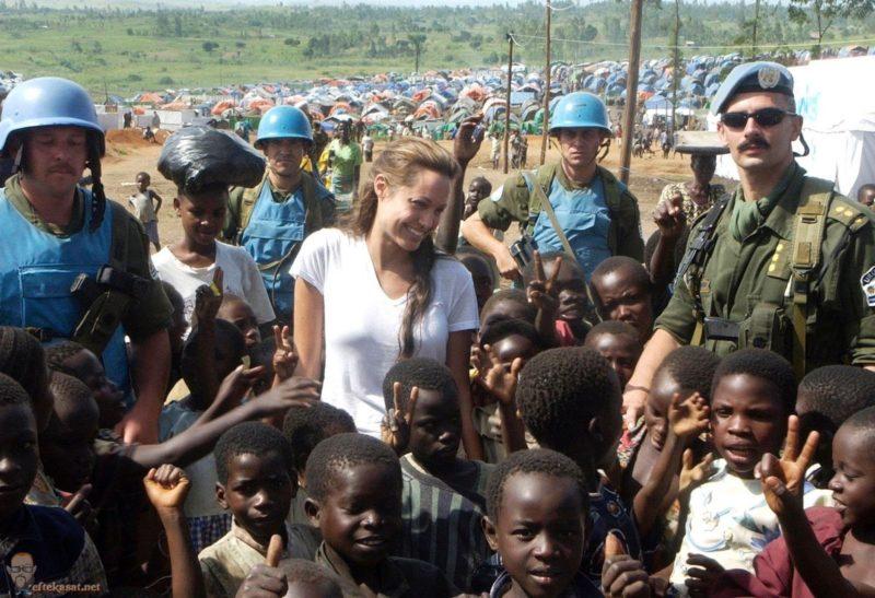 Анджелина Джоли посол доброй воли