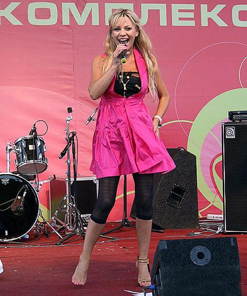 Ирина Салтыкова на сцене