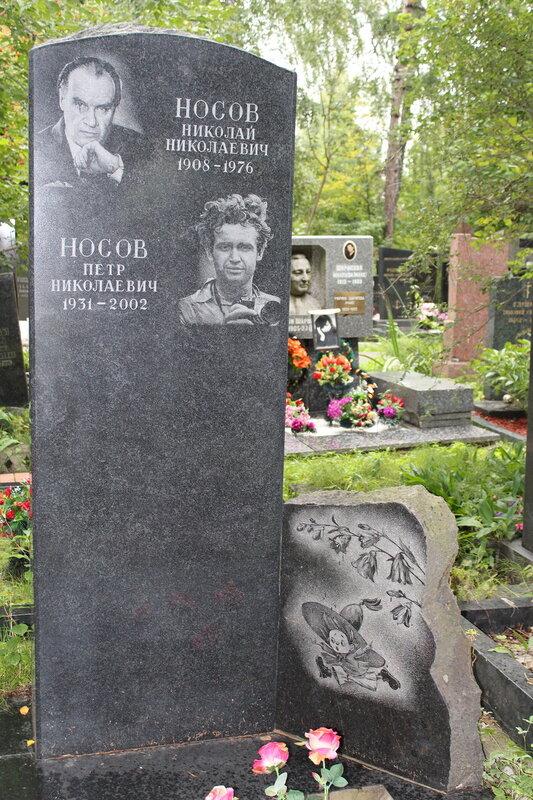 Могила Николая Носова