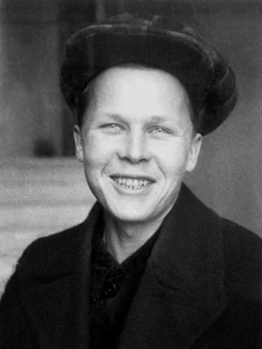 Александр Твардовский в юности