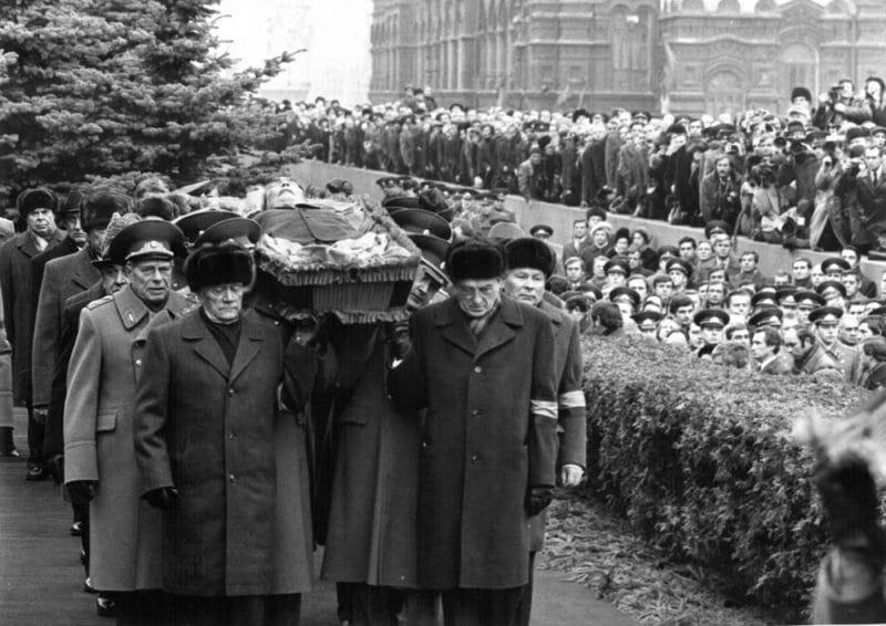 Похороны Леонида Ильича Брежнева