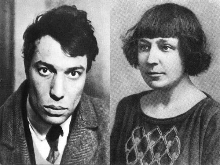 Борис Пастернак и Марина Цветаева