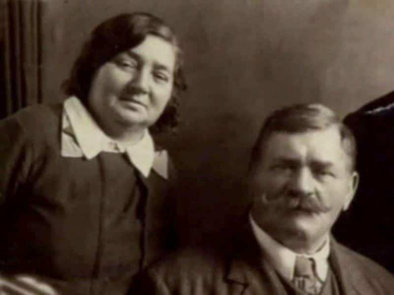 Иван Поддубный и Мария Машошина