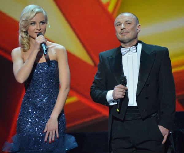 Полина Гагарина с Александром Жулиным