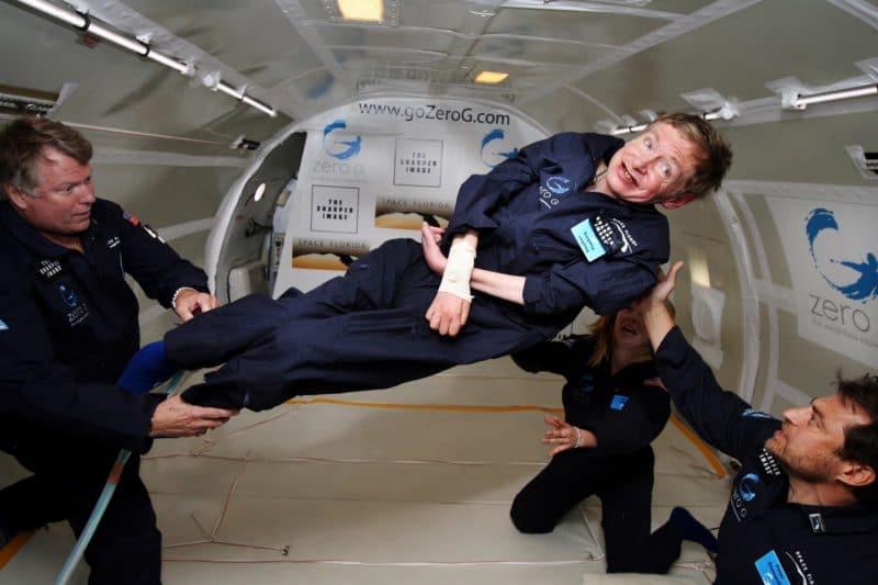Стивен Хокинг в космосе