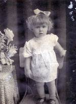 Надежда Бабкина в детстве