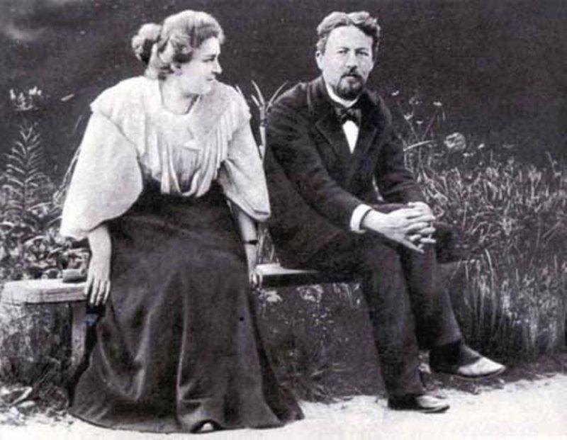Антон Павлович Чехов и Лидия Мизинова