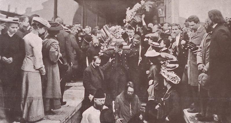 Похороны Антона Павловича Чехова