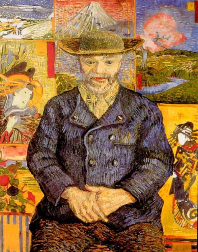 Винсент Ван Гог портрет Папаши Танги