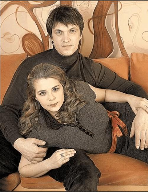 Ирина Пегова с Дмитрием Орловым