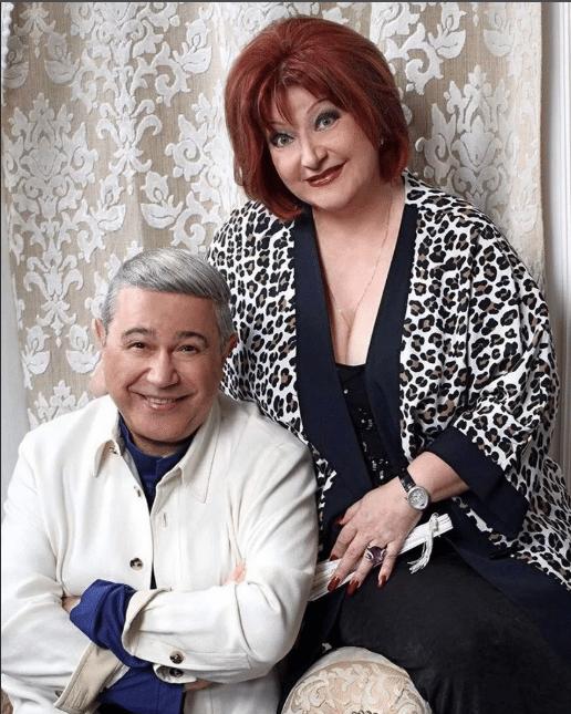 Елена Степаненко с Евгением Петросяном