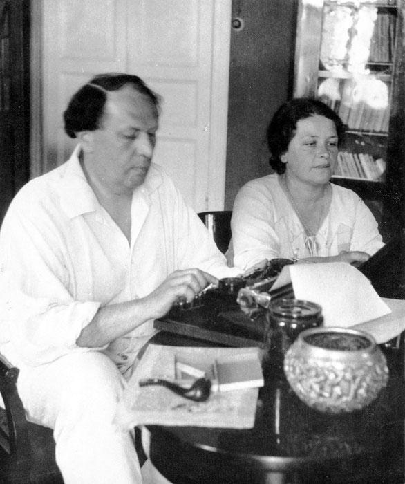 Алексей Толстой с Натальей Крандиевской