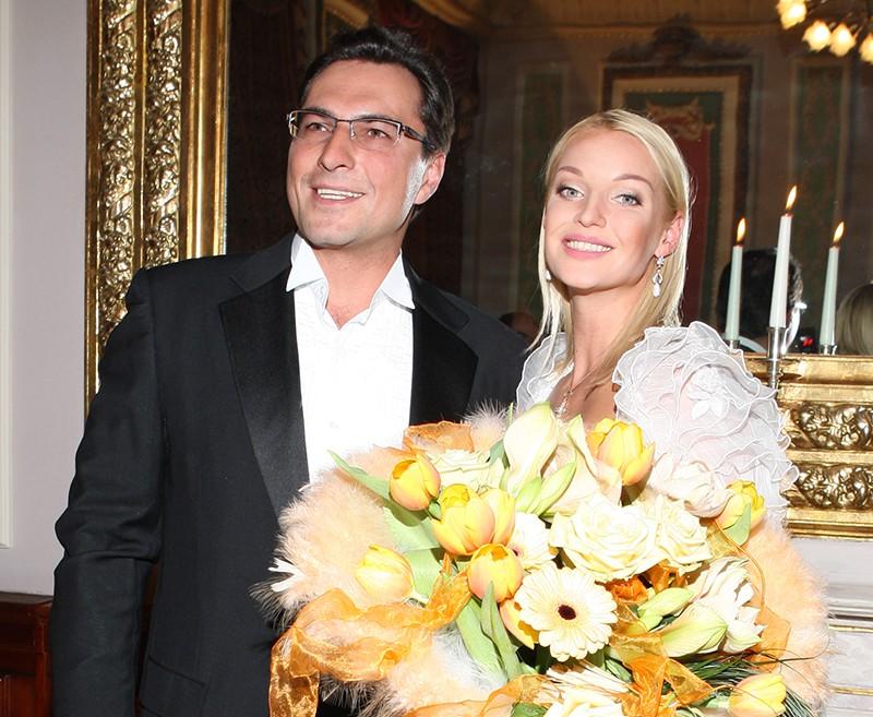 Анастасия Волочкова свадьба с Вдовиным