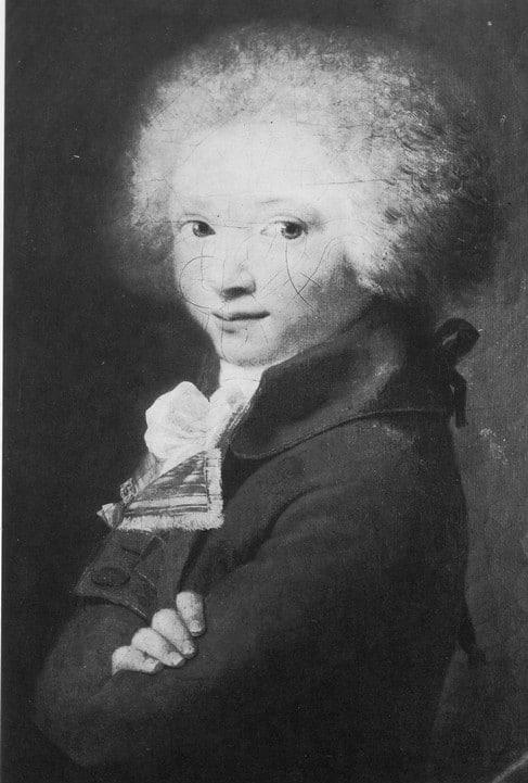 Портрет Михаила Ломоносова в детстве