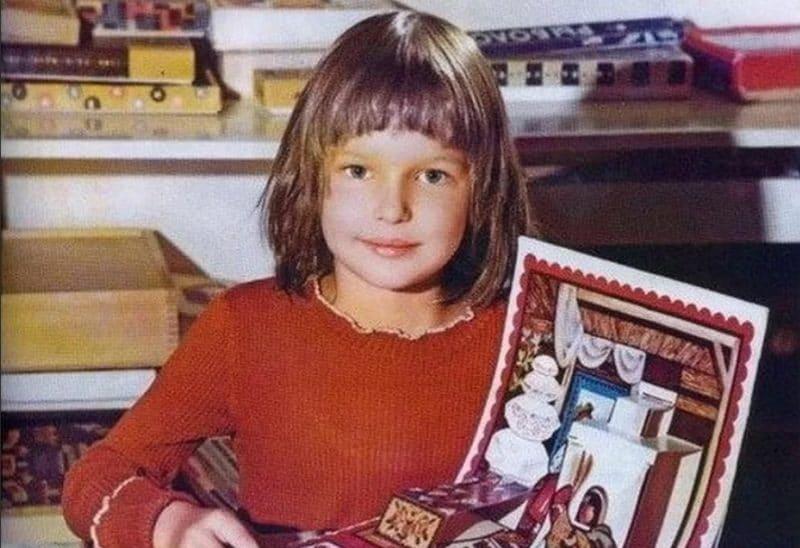 Анастасия Волочкова в детстве