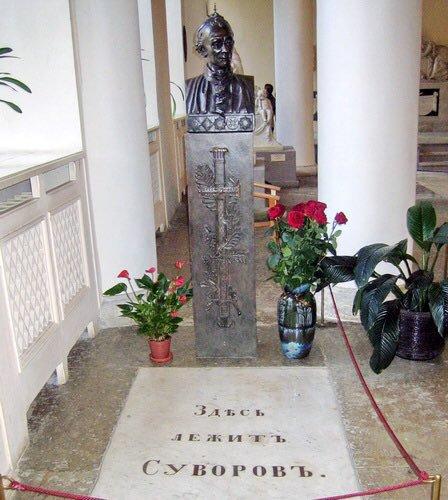 Могила Александра Суворова