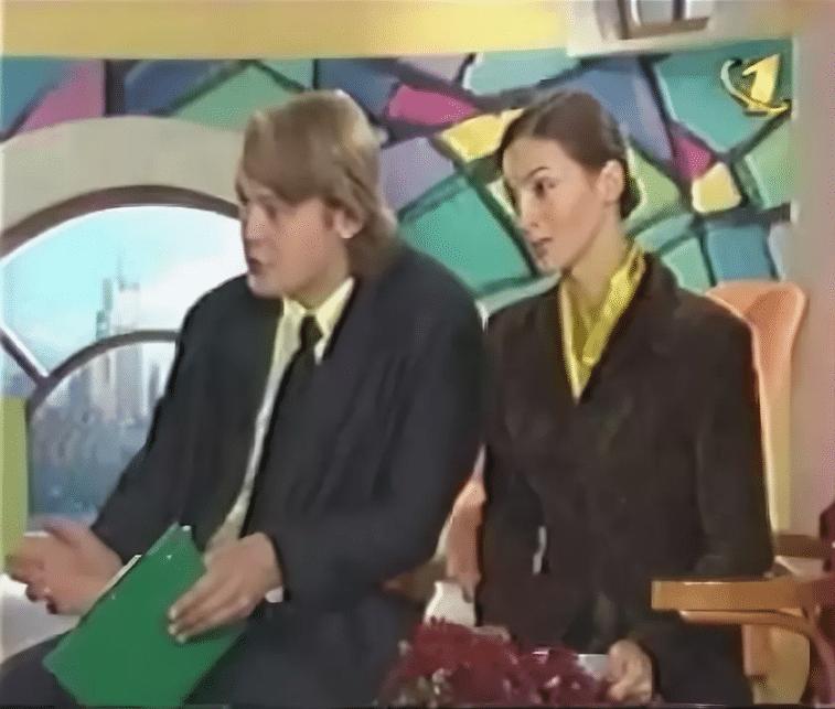 Александр Стриженов с Екатериной Стриженовой в передаче Доброе утро
