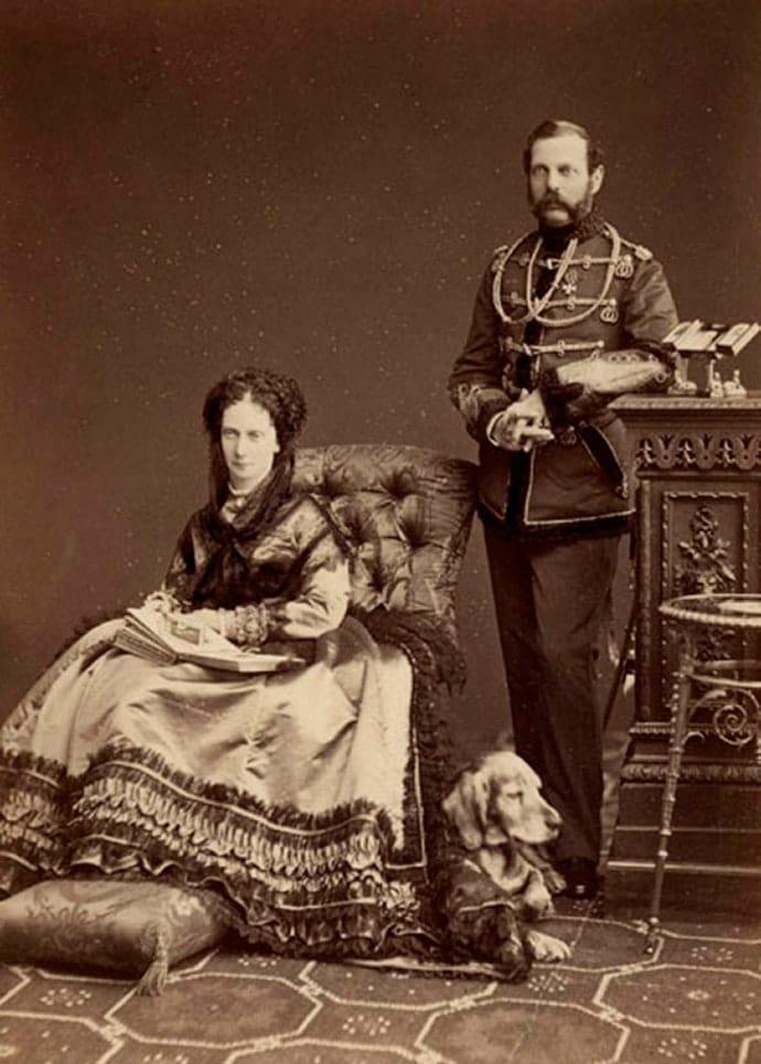 Александр 2 с Марией Александровной