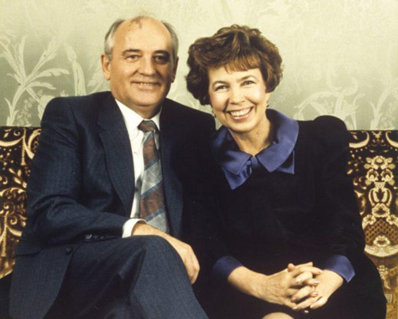 Михаил Горбачев с Раисой Титаренко