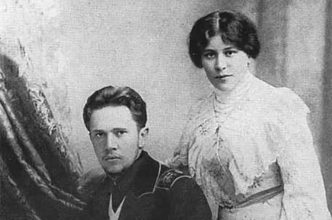 Алексей Толстой и Юлия Рожанская