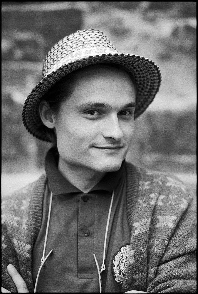 Александр Васильев в юности