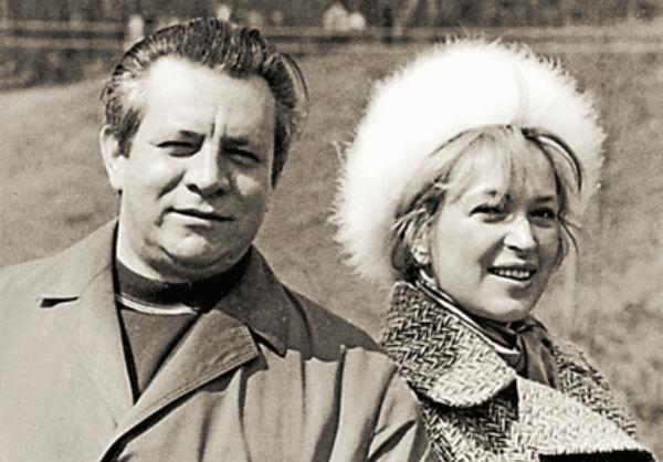 Клара Лучко с Дмитрием Мамлеевым