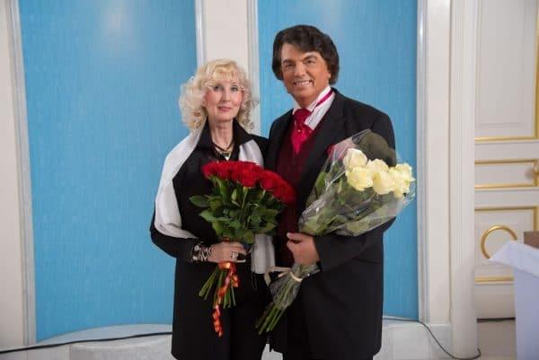 Сергей Захаров с женой Аллой Наримановной