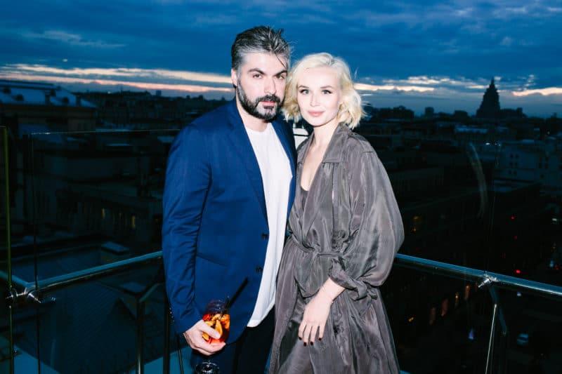 Полина Гагарина с Дмитрием Исхаковым