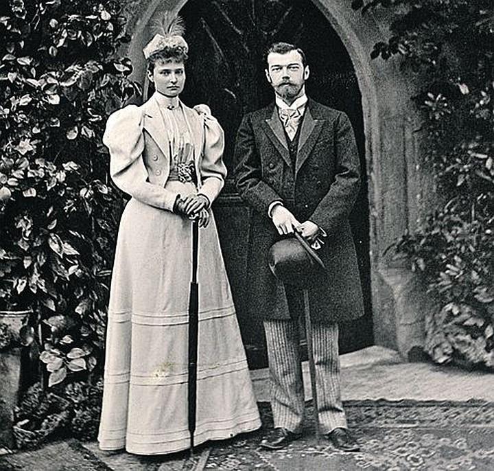 Николай 2 и принцесса Алиса Гессен-Дармштадская