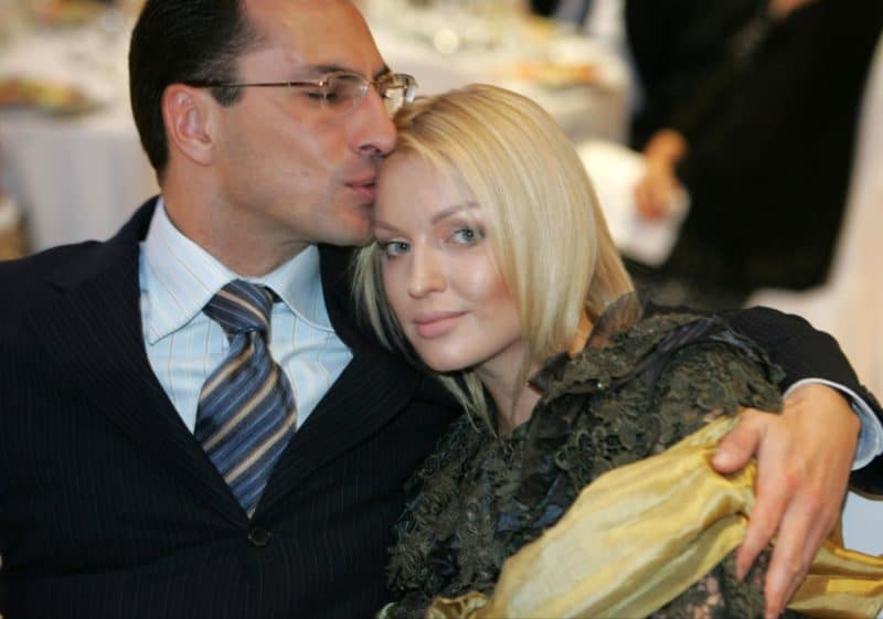 Анастасия Волочкова с Сулейманом Керимовым