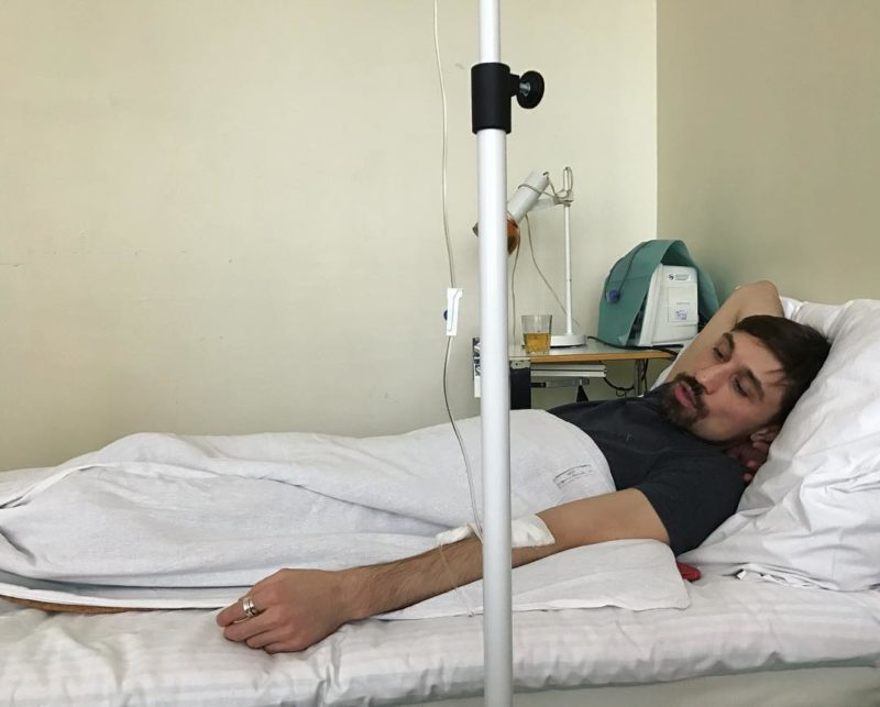 Дима Билан в больнице