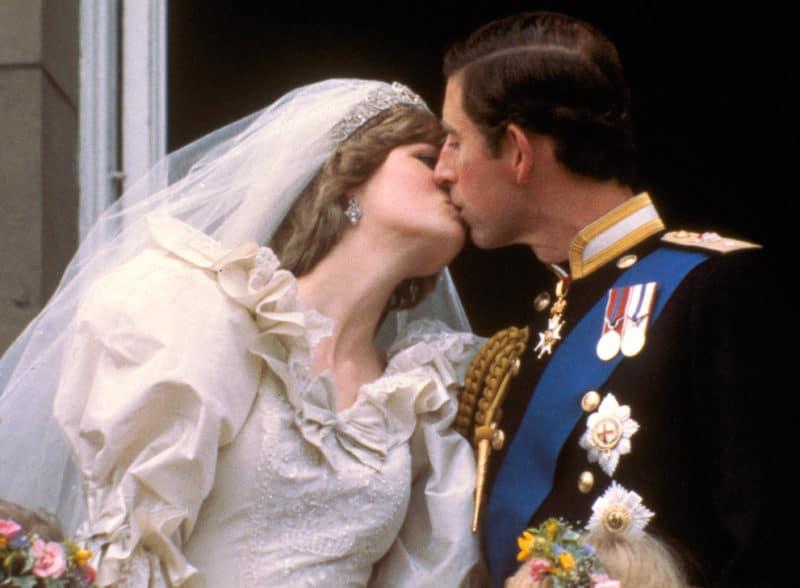 Принцесса Диана на Свадьбе с принцем Чарльзом