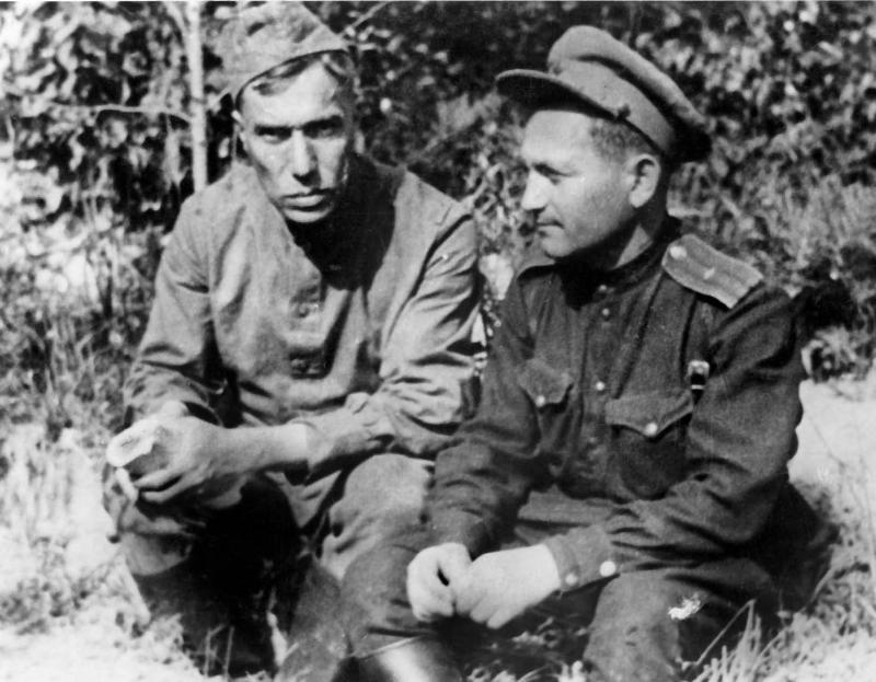 Борис Пастернак на фронте