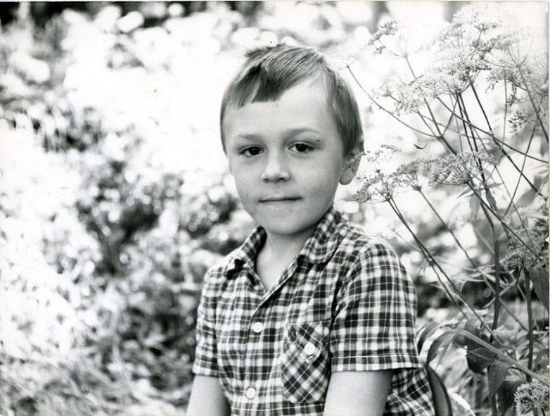 Сергей Шнуров в детстве