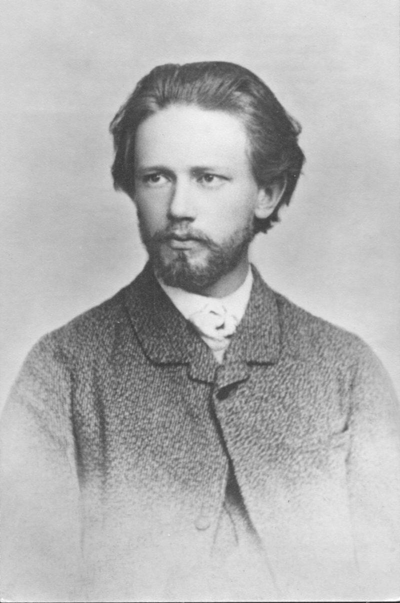 Молодой Чайковский