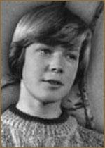 Александр Стриженов в детстве