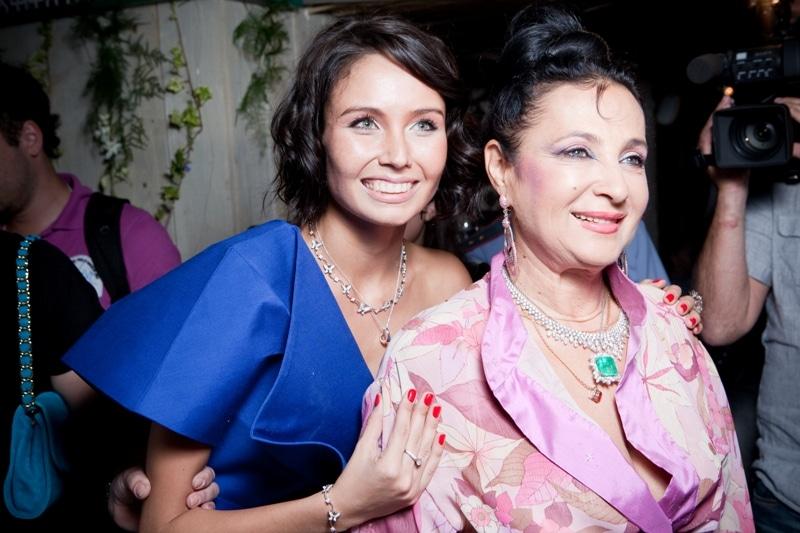 Ляйсан Утяшева с Ириной Винер