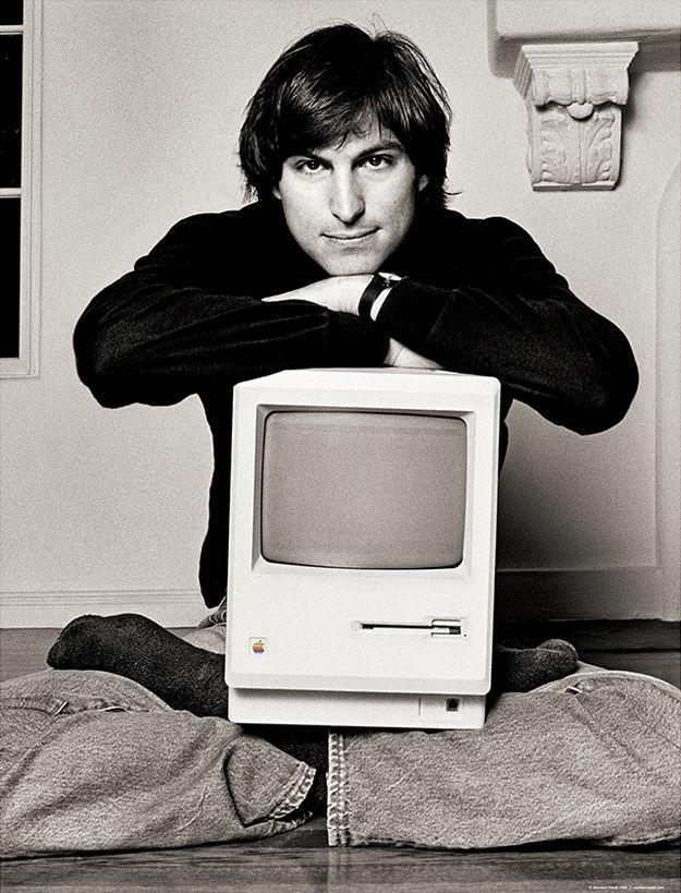 Стив Джобс в молодости